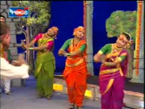 Marathi Folk Song - Bola Ho Udho Udho Bola - Tulja Bhavani Song video