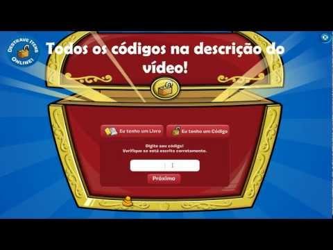Club Penguin - Todos os códigos de itens - (Códigos na descrição do vídeo!)