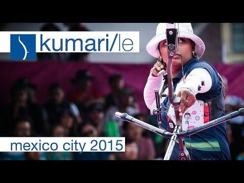 Kumari v Le - Recurve Women's Semifinal | Mexico City 2015