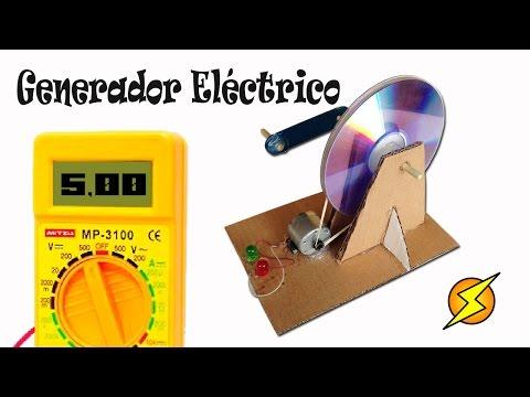 Como Hacer un Generador Eléctrico Casero Energía gratis