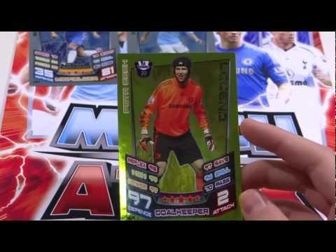 Match Attax 12 13 Opening Legend Petr Cech Star Payers Eden Hazard & David Siva! Ep 7