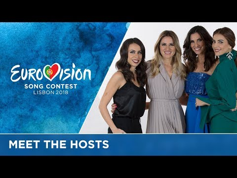 And here are your FOUR Eurovision 2018 hosts...!