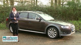 Audi A4 Allroad estate 2013 review - CarBuyer