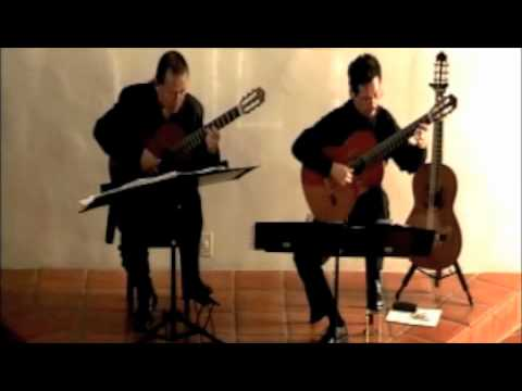 Odeum Guitar Duo - 2-27-11 - Antonio Vivaldi/JS Bach - Concerto in D major - BWV 972
