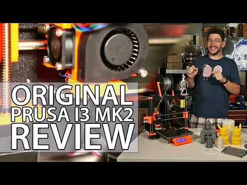 Original Prusa i3 mk2 3D Printer Review - Fully Assembled Version