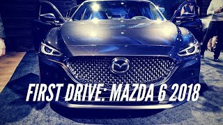 First Drive: Mazda 6 2018