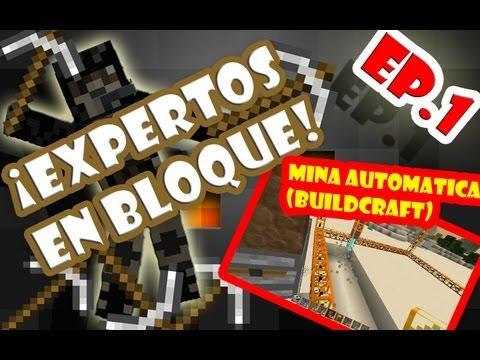 Cómo hacer una mina automática minecraft (Buildcraft)