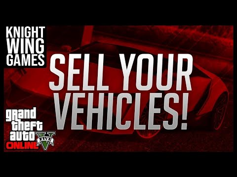GTA 5 ONLINE: HOW TO SELL YOUR CARS, MOTERCYCLES OR PEGASUS VEHICLES