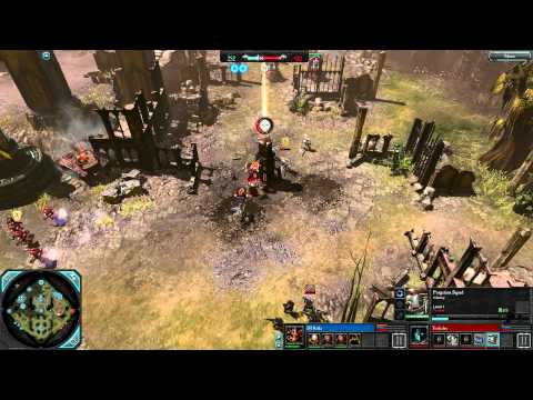 DoW2: Retribution — 1v1 | DJ Raffa [vs] Toilailee