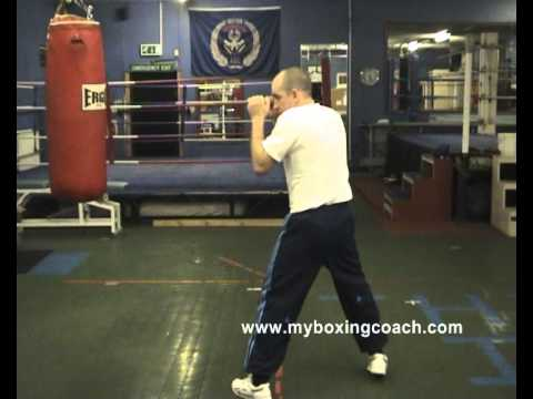Boxing Techniques - A Lead Hand Parry To The Inside (A Southpaw Special!) Image 1