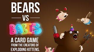 Bears VS Babies - Full Board game Play Through