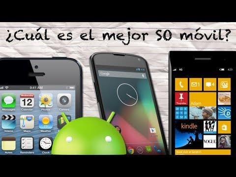 ¿Cuál es el Mejor Sistema Operativo Móvil? (Android vs iOS vs Windows Phone)