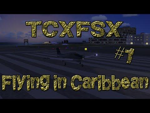 Flying in Caribbean [FSX/P3D] HD