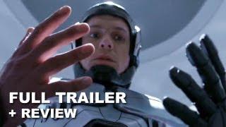 RoboCop 2014 Official Trailer + Trailer Review : HD PLUS