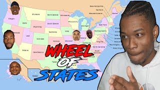 SPIN THE WHEEL OF HOME STATES REBUILDING CHALLENGE IN NBA 2K19