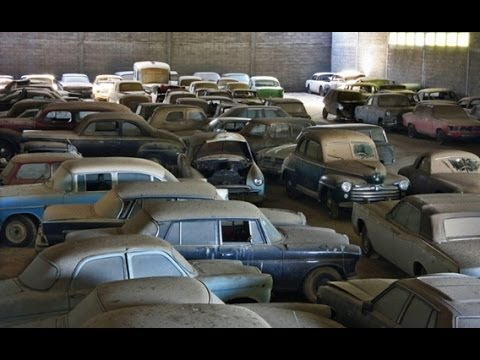Massive Barn Find In Portugal Youtube