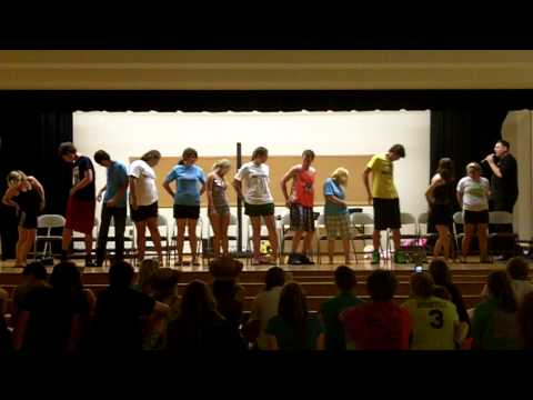 St  Lawrence High School Grad Night 2012 - Big Booty Dancers - Master Hypnotist Michael Blaine
