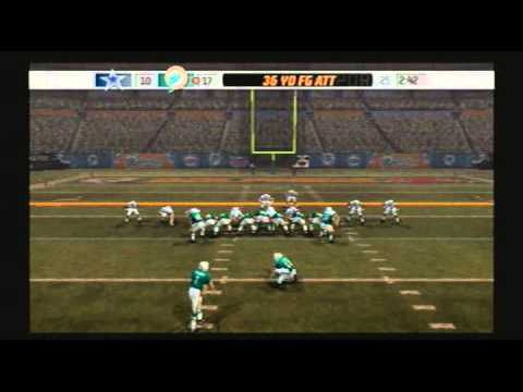 Madden NFL 07 Historic Teams Special 1971 Dallas Cowboys vs 1972 Miami Dolphins Video Game Simulation video Game (Video Game Genre) PlayStation 2 Video Game ...