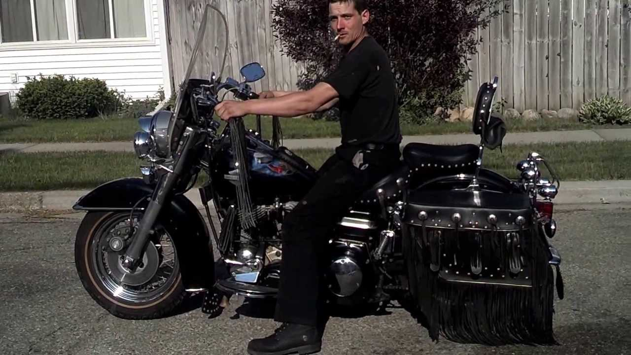 1963 Harley Davidson Panhead for Sale - YouTube