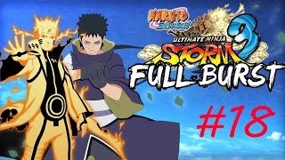 Naruto Shippuden Ultimate Ninja Storm 3 Full Burst - PC Walkthrough Part #18 Final [English]