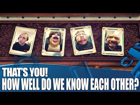 That's You! Couch Co-op Gameplay - How well do we know each other?