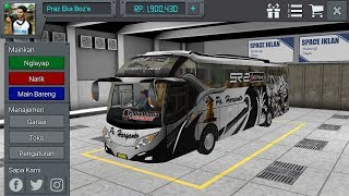 LIVERY Po  HARYANTO SR2 XHD game BUSSID 4.25 MB