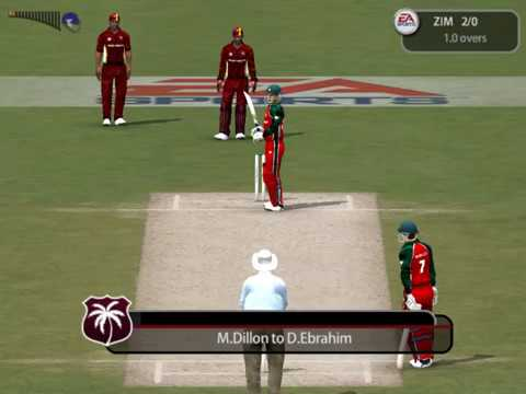 West Indies v Zimbabwe, ICC Cricket World Cup 2015, EA Sports Channel