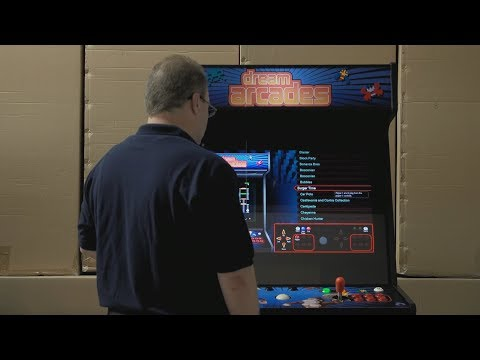 Dream Arcade Product Demonstration video