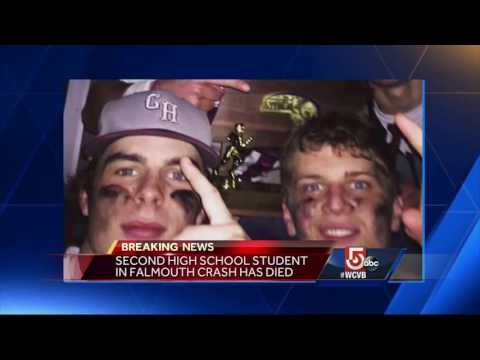 2nd student in Falmouth crash has died