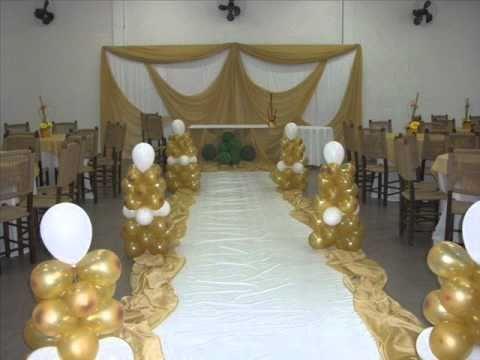 decoracao bodas de prata : - Carmem Decora - Bodas de Prata - YouTube
