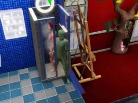 Sims 3: Seasons Shower Woo Hoo