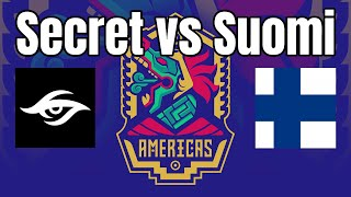 ECL 2v2 | Secret vs Suomi | TheViper+TatoH vs TheMax+Rubenstock