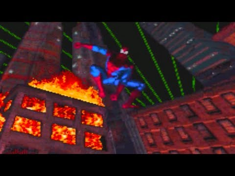 Spider-Man Web of Fire Game Review (Sega 32X)