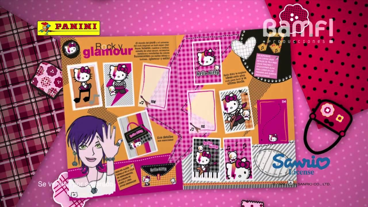 Bamf  Spot Hello Kitty B Cool stickers  YouTube -> Kuchnia Dziecieca Hello Kitty