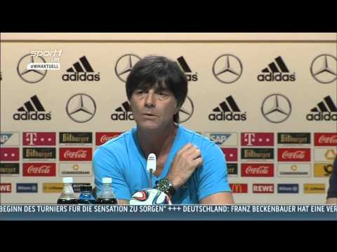 Sport1 WM Aktuell | Joachim Löw - Ausschnitte aus der DFB Pressekonferenz