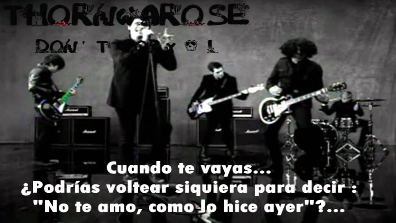 My chemical romance i don t love you video oficial traducida