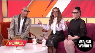 'RuPaul' with Leah Remini!