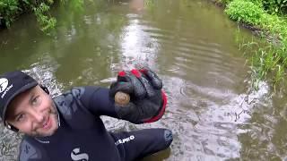 UNDERWATER RIVER METAL DETECTING UK