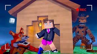 Minecraft - DESAFIO DA BASE 100% SEGURA CONTRA ANIMATRONICS  ‹ LOKI ›