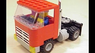 TRUCK, LEGO, Build your Toys, Building Blocks