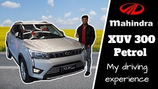 Mahindra XUV300 Petrol :  my driving experience | Better then FORD ECOSPORT ?