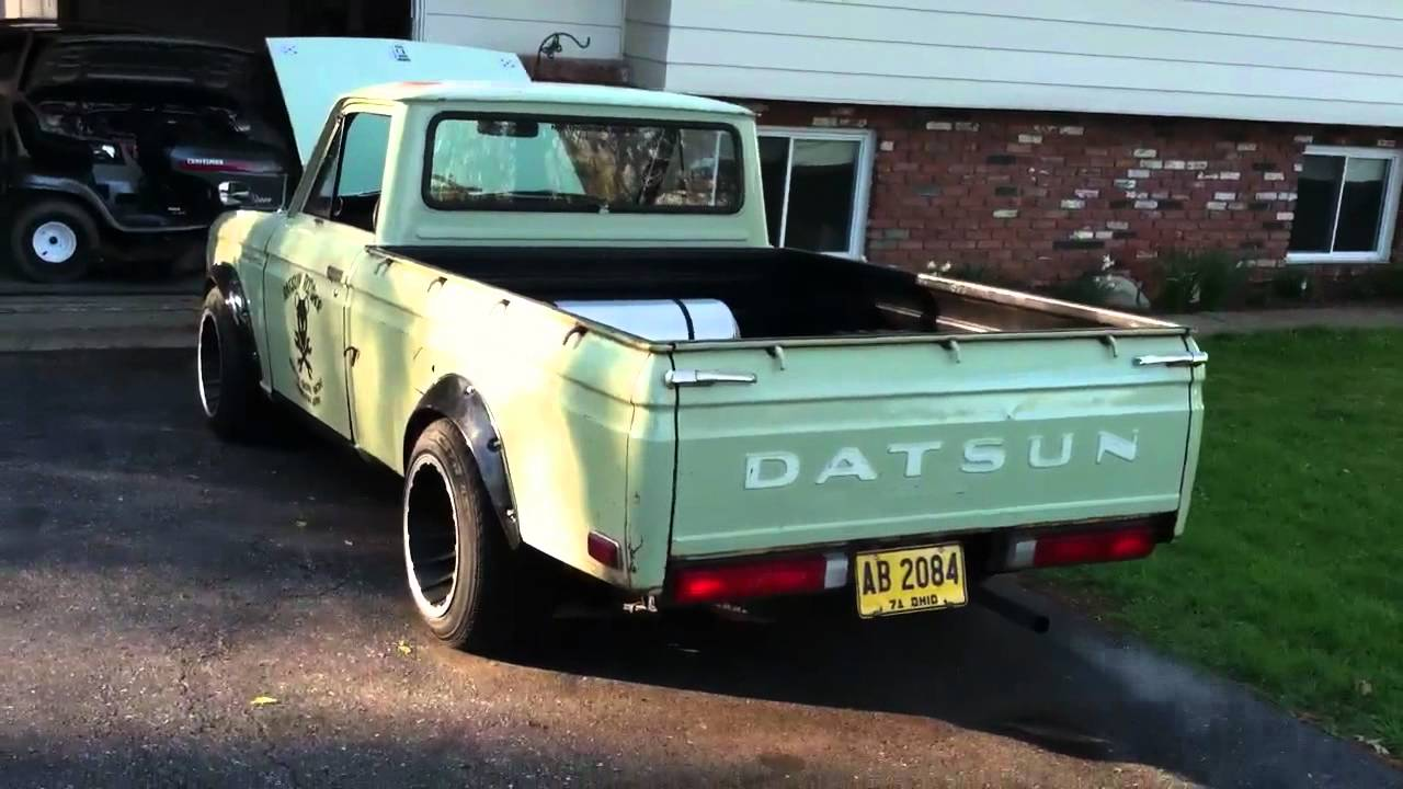 Datsun 521 Pickup Su Carb Tuning