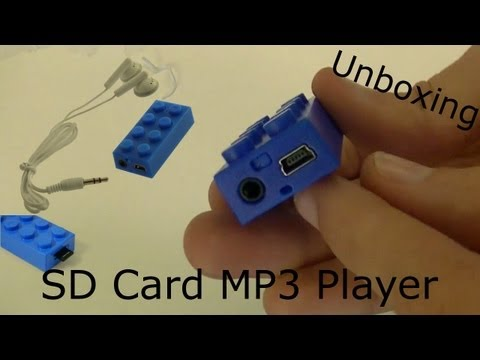 Block MP3 Player Unboxing and Setup. Cheapest iPod