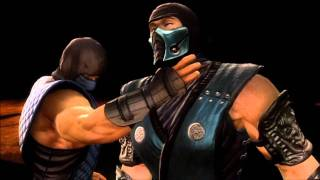 Mortal Kombat 9 Sub-Zero Fatality 1, 2, 3, Stage And Babality (HD)