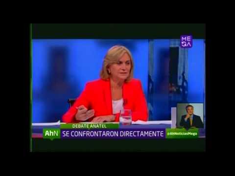 Confrontación directa entre Evelyn Matthei y Michelle Bachelet marcó el debate Anatel
