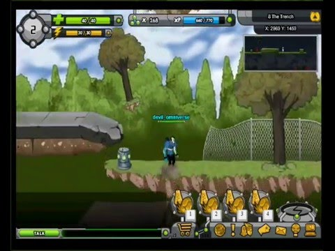 Ben 10 MMO Game   Omniverse Rise Of Heroes Level S   5 6 7 And 8