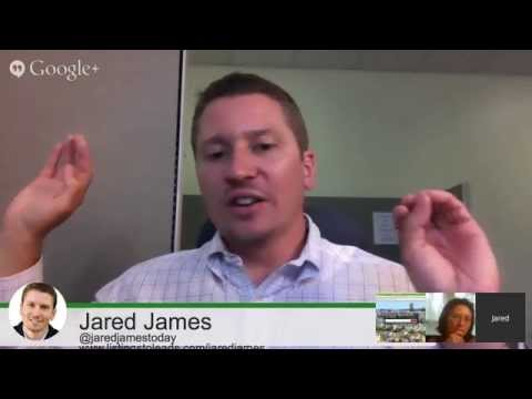 Jared James Coaching Broadcast with Listings to Leads founder Scott Pierce