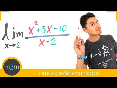 Tipo de límite: 0/0 (ejercicios 1 y 2) - HD