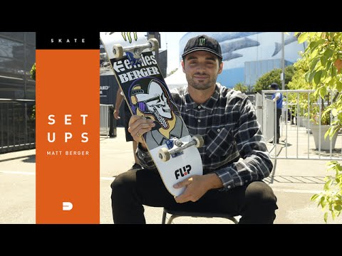 Setups: Matt Berger Shows us how He Locks down His Skateboard Setup