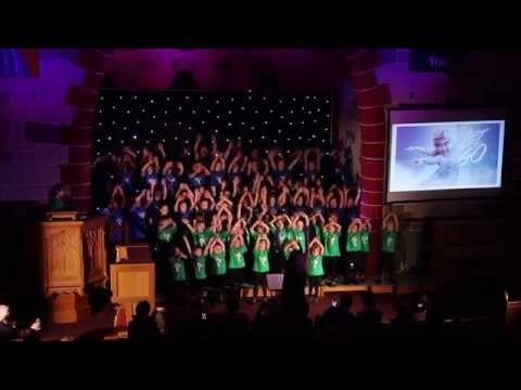 Barazina means 'Creative Abundance' and these young people are bursting with energy, creativity and talent! Aged between 4-14 this Cross Community Choir from N. Ireland always enjoys performing.